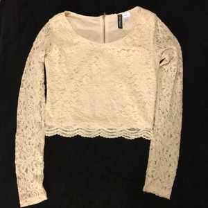 H&M Lace Crop Top. *As Is*